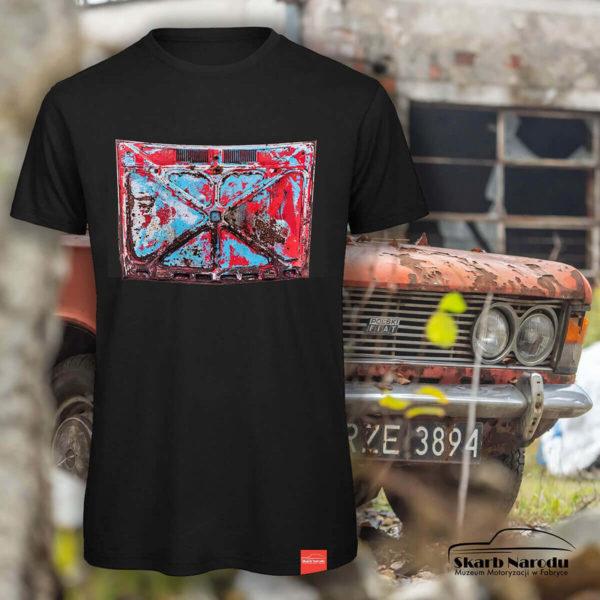 Koszulka z nadrukiem maski samochodowej