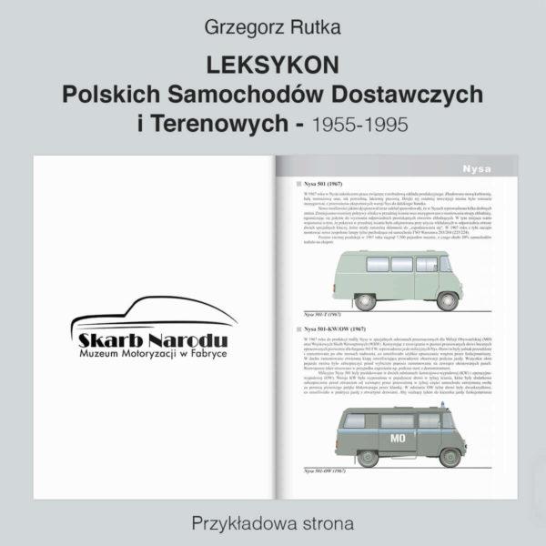 Leksykon Polskich Samochodów Dostawczych i Terenowych - Nysa