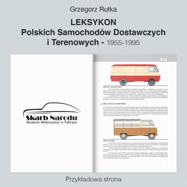 Leksykon Polskich Samochodów Dostawczych i Terenowych - Żuk