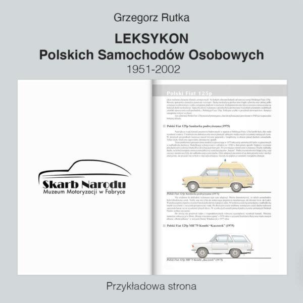 Leksykon Polskich Samochodów Osobowych 1951-2002 - Polski Fiat 125p