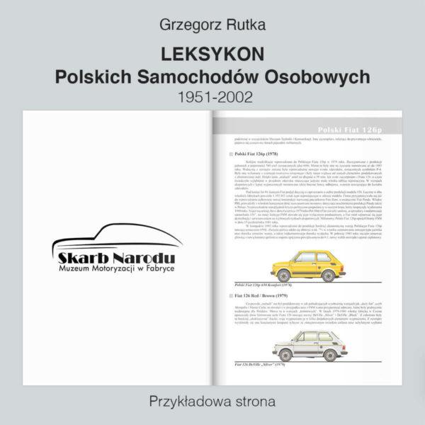 Leksykon Polskich Samochodów Osobowych 1951-2002 - Polski Fiat 126p