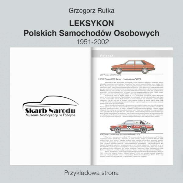 Leksykon Polskich Samochodów Osobowych 1951-2002 - FSO Polonez