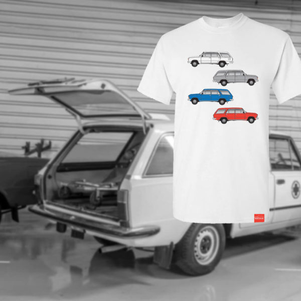 Koszulka Polski Fiat 125p kombi