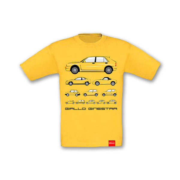 Dziecięca koszulka Giallo Ginestra