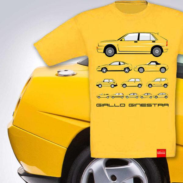 Dziecięca żółta koszulka w kolorze Giallo Ginestra