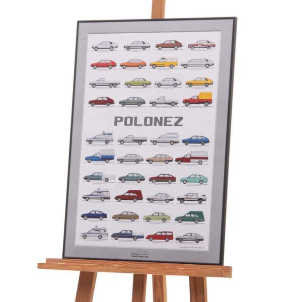 Plakat L FSO Polonez Muzeum SKARB NARODU