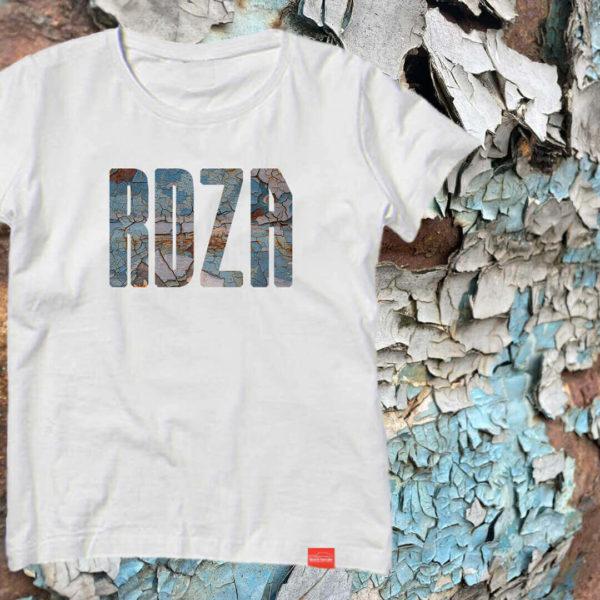 Damska koszulka z napisem RDZA z serii Graty Dają Radę