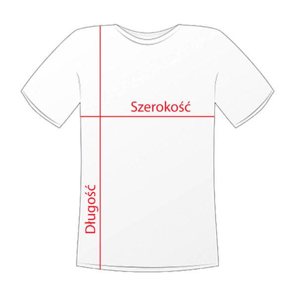 Koszulki z nadrukiem jak wybrać rozmiar